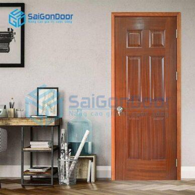 Thi Công cửa gỗ thông phòng QUẬN 6 HCM uy tín, chất lượng